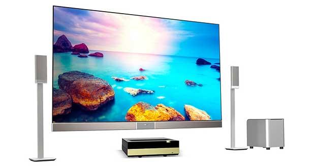 """hisense lasercast1 18 12 15 - Hisense Laser Cast: proiettore TV da 85, 100 e 120"""""""