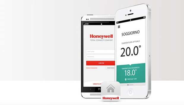 "honeywell y87 2 01 12 15 - Honeywell Y87: termostato ""connesso"" con supporto IFTTT"