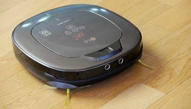 lg hom bot 2 22 12 15 - LG HOM-BOT Turbo+: robot aspirapolvere e telecamera sicurezza