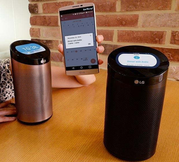 "lg smartthinq 2 30 12 2015 - LG SmartThinQ Hub: hub per la ""smart home"" e speaker"