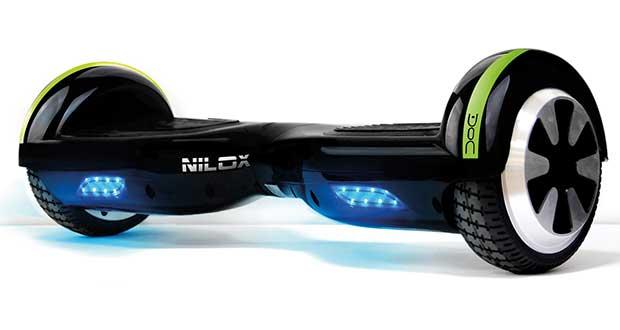 nilox doc6.5 evi 21 12 15 - Nilox DOC 6.5: il primo hoverboard italiano
