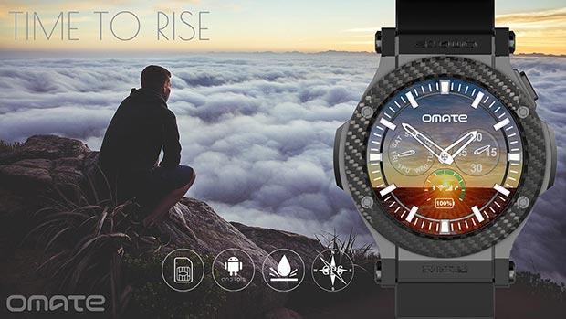 omate rise 02 12 2015 - Omate Rise: smartwatch Android con connettività 3G