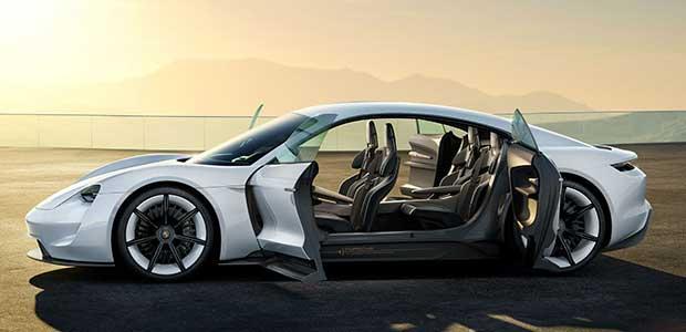 porsche mission e 1 07 12 15 - VW: OK Porsche elettrica e addio Lamborghini e Ducati?