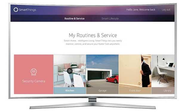 samsung smartthings 2 29 12 15 - Samsung Smart TV 2016 con controllo Smart Home