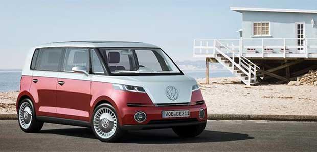 """vw microbus elettrico 2 31 12 15 - Volkswagen Microbus 100% elettrico e """"smart"""" al CES 2016"""