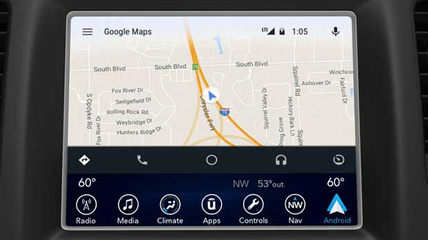 FCA uconnect 2 05 01 16 - Fiat Chrysler: supporto CarPlay e Android Auto in arrivo