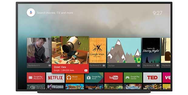 androidtv1 11 01 16 - Android TV per TCL, B&O, Hisense, Grundig, Vestel e RCA