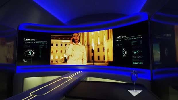 "boeing display2 13 01 16 - Boeing: concept ""display"" delle cabine aerei del futuro"