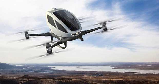 ehang 184 1 08 01 16 - Ehang 184 AAV: il primo drone per...passeggeri!!