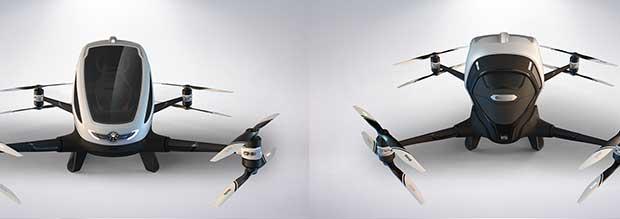 ehang 184 2 08 01 16 - Ehang 184 AAV: il primo drone per...passeggeri!!