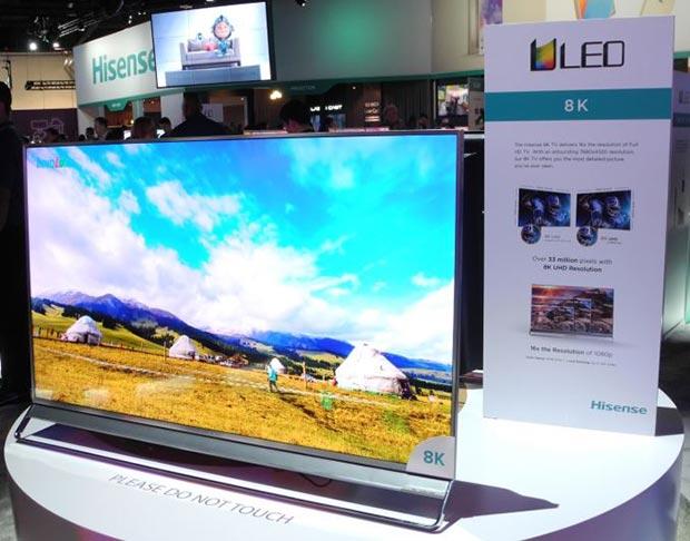 hisense 8k 11 01 2016 - Hisense: nuove TV LCD Ultra HD con HDR