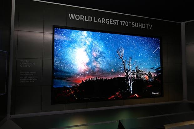 """samsung suhd 170 07 01 2016 - Samsung: TV modulare, trasformabile e SUHD da 170"""""""