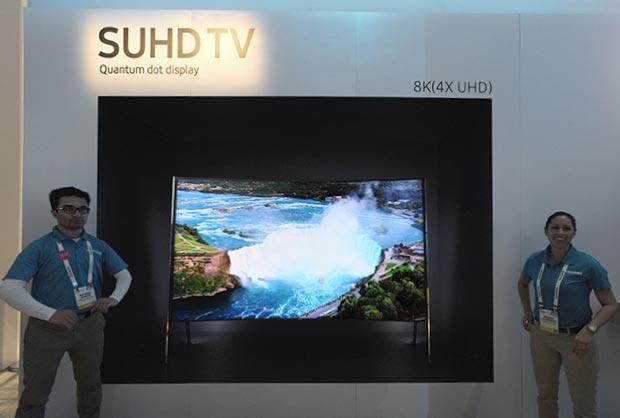 """samsung un98s9 08 01 2016 - Samsung UN98S9: TV SUHD 98"""" a risoluzione 8K"""