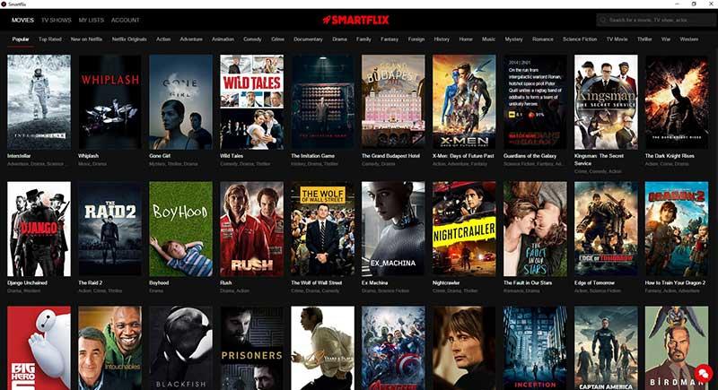smartflix 1 15 01 16 - Smartflix: Netflix su PC senza restrizioni regionali