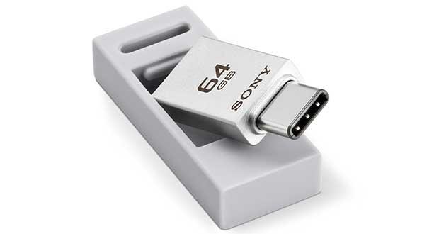 sony usb c evi 27 01 16 - Sony USM-CA1: chiavetta con USB Type-C e Type-A