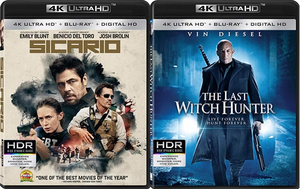 ultra hd blu ray lionsgate 14 01 2016 - Lionsgate: primi Ultra HD Blu-ray con HDR, Dolby Atmos e DTS:X