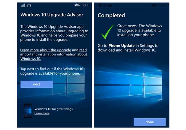 win10mobile 1 18 01 16 - Smartphone Lumia: Windows 10 Mobile in dirittura d'arrivo