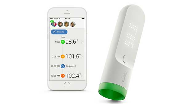 "withings thermo 1 05 01 16 - Withings Thermo: anche il termometro diventa ""smart"""