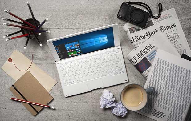 alcatel plus10 4 22 02 16 - Alcatel Plus 10: Tablet-PC 2 in 1 da 10 pollici con Windows 10