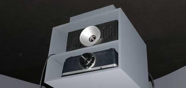 """benq x12000 1 09 02 16 - BenQ X12000: proiettore DLP 4K """"vobulato"""" a LED"""
