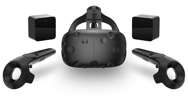 htc vive evi 22 02 2016 - HTC Vive: visore per realtà virtuale da aprile a 799$