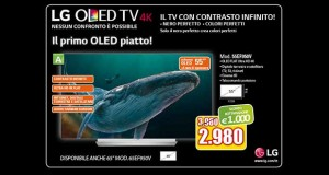 """lg oled 55ef950v evi 05 02 16 300x160 - LG OLED 4K """"piatto"""" EF950V da 55 pollici disponibile in Italia"""