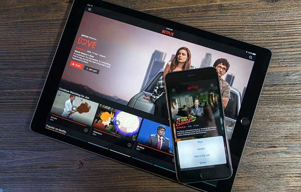 "netflix app ios 1 25 02 16 - Netflix: nuova app iOS e presto ""second screen"" per iOS e Android"