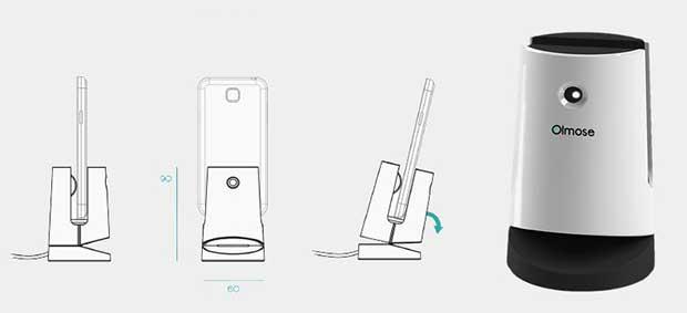 olmose 1 02 02 16 - Olmose trasforma vecchio smartphone in telecamera sicurezza