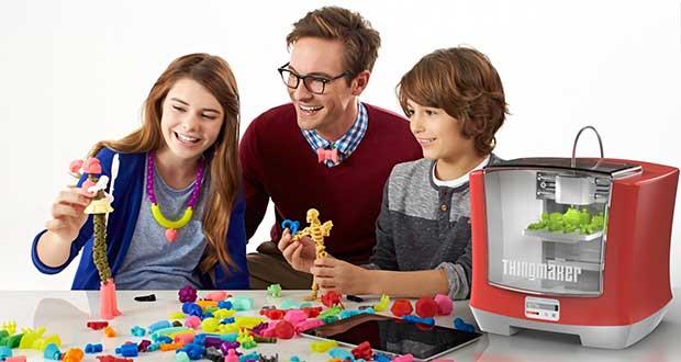 "thingmaker evi 16 02 16 - Mattel ThingMaker: stampante 3D ""economica"" per bambini"