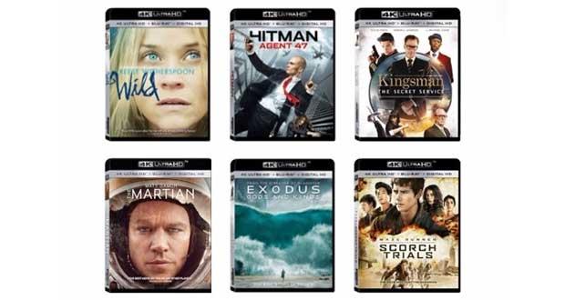 ultrahd bd evi 26 02 16 - Fox e Warner Ultra HD Blu-ray: primi titoli sono upscaling 2K!