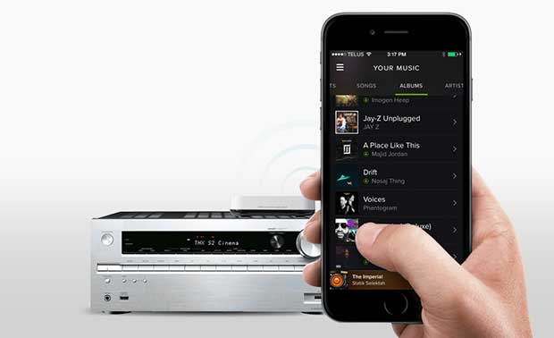 BluetoothMusicReceiver 3 16 03 16 - One For All Bluetooth Music Receiver: streaming Hi-Fi da smartphone