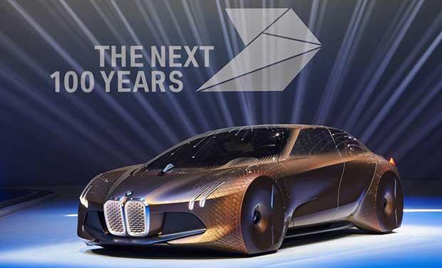 bmw concept 1 08 03 16 - BMW Vision Next 100: auto concept del futuro