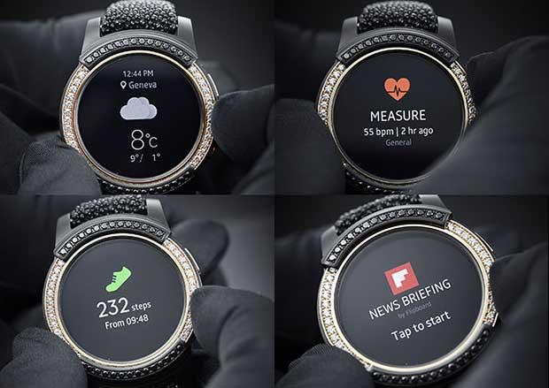 gears2 degrisogono 6 17 03 16 - Samsung Gear S2 de Grisogono: smartwatch con diamanti e oro rosa
