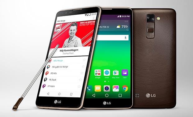 lg stylus dab 14 03 2016 - LG Stylus DAB+: smartphone con radio digitale
