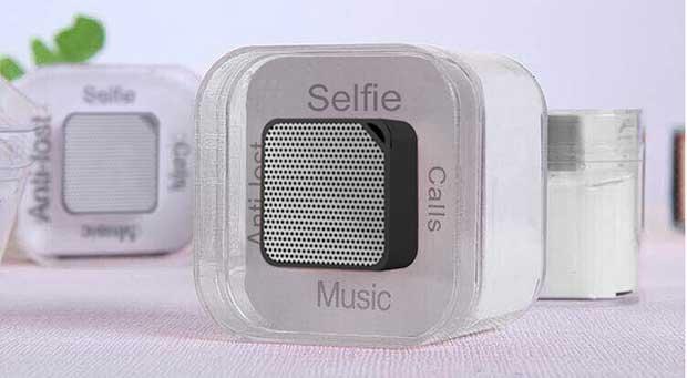 neoqube 1 08 03 16 - Neoqube: mini speaker/vivavoce Bluetooth e telecomando selfie