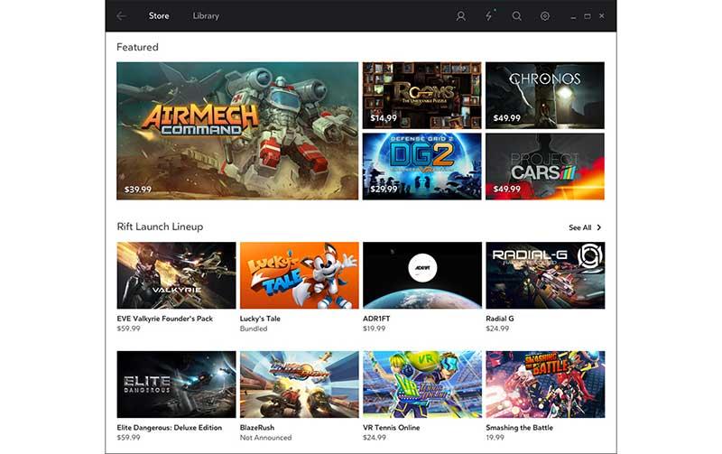 oculus giochi 3 17 03 16 - Ocuclus Rift: la lista completa dei 30 giochi VR al lancio