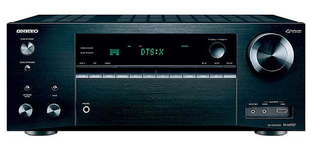 onkyo 757 1 17 03 16 - Onkyo TX-NR757: sinto-ampli 7.2 con Atmos, DTS:X e THX