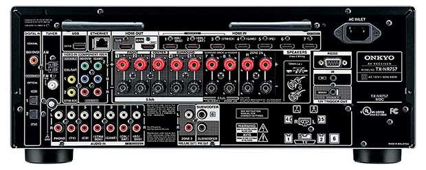 onkyo 757 2 17 03 16 - Onkyo TX-NR757: sinto-ampli 7.2 con Atmos, DTS:X e THX