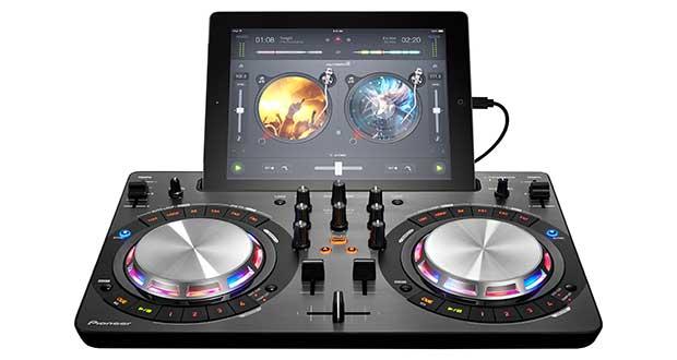 pioneer consoledj evi 23 03 16 - Pioneer DDJ-WeGo3: console per mixare con iPad e da Spotify