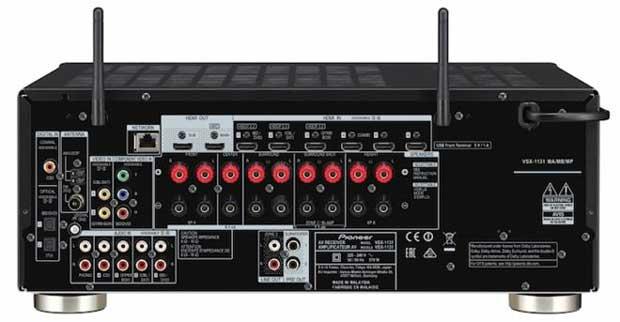 pioneer sintoampli2016 4 21 03 16 - Pioneer VSX-531 / 831 / 1131: sinto-ampli 5.1 e 7.2 canali HDMI 2.0a