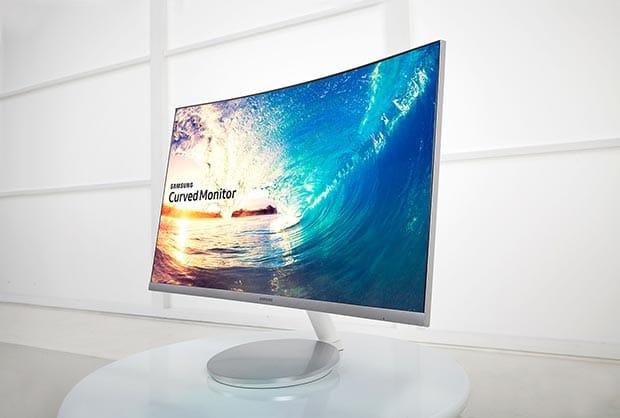 samsung CF591 2 01 03 2016 - Samsung: tre nuovi monitor LCD curvi Full HD con FreeSync