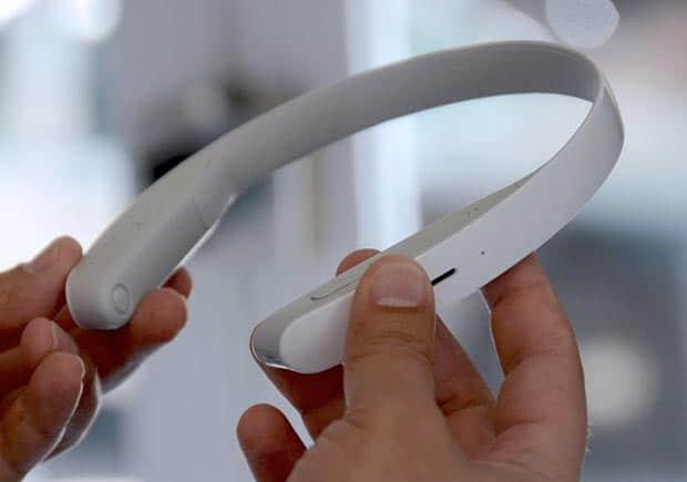 sony concept n 14 03 2016 - Sony Concept N: cuffie da indossare al collo con fotocamera