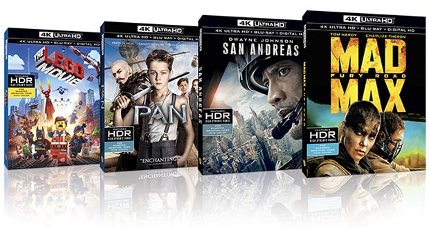 warner ultra hd bluray 15 03 2016 - Warner: primi Ultra HD Blu-ray in Italia dal 20 aprile