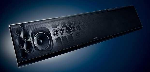 yamaha ysp5600 art 9 - Proiettore sonoro Yamaha YSP-5600 Dolby Atmos - La prova