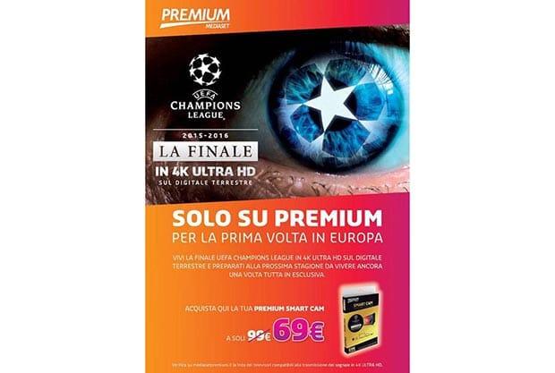champions 4k mediaset 2 22 04 2016.jpg - Mediaset Premium: finale di Champions League in 4K