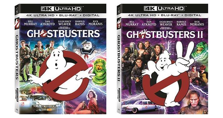 ghostbusters uhd bluray 05 04 2016 - Ghostbusters e Star Trek: quattro nuovi titoli su Ultra HD Blu-ray