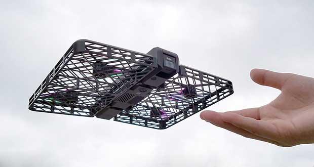 hover camera evi 26 04 16 - Hover Camera: mini drone ripiegabile e con riprese 4K