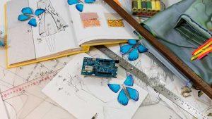 """intel butterfly dress 3 13 04 16 300x169 - Intel Butterfly Dress: abito di alta moda """"smart"""""""