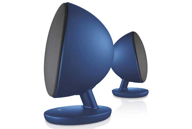 "kef egg 1 05 04 16 - KEF EGG: speaker Bluetooth e USB 96kHz / 24 bit a ""uovo"""