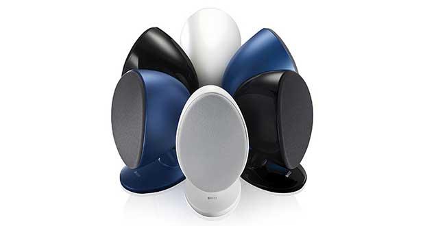 "kef egg evi 05 04 16 - KEF EGG: speaker Bluetooth e USB 96kHz / 24 bit a ""uovo"""